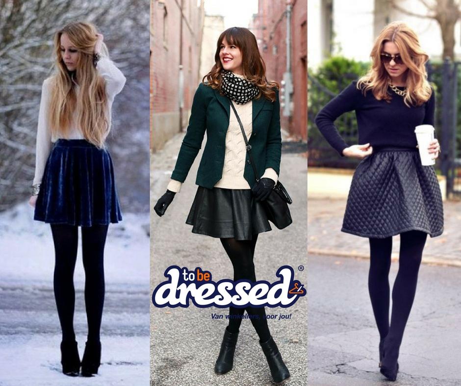 Super Een rokje in de winter! - To Be Dressed #ZD19