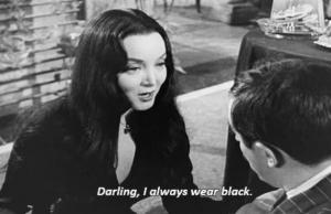 always wear black
