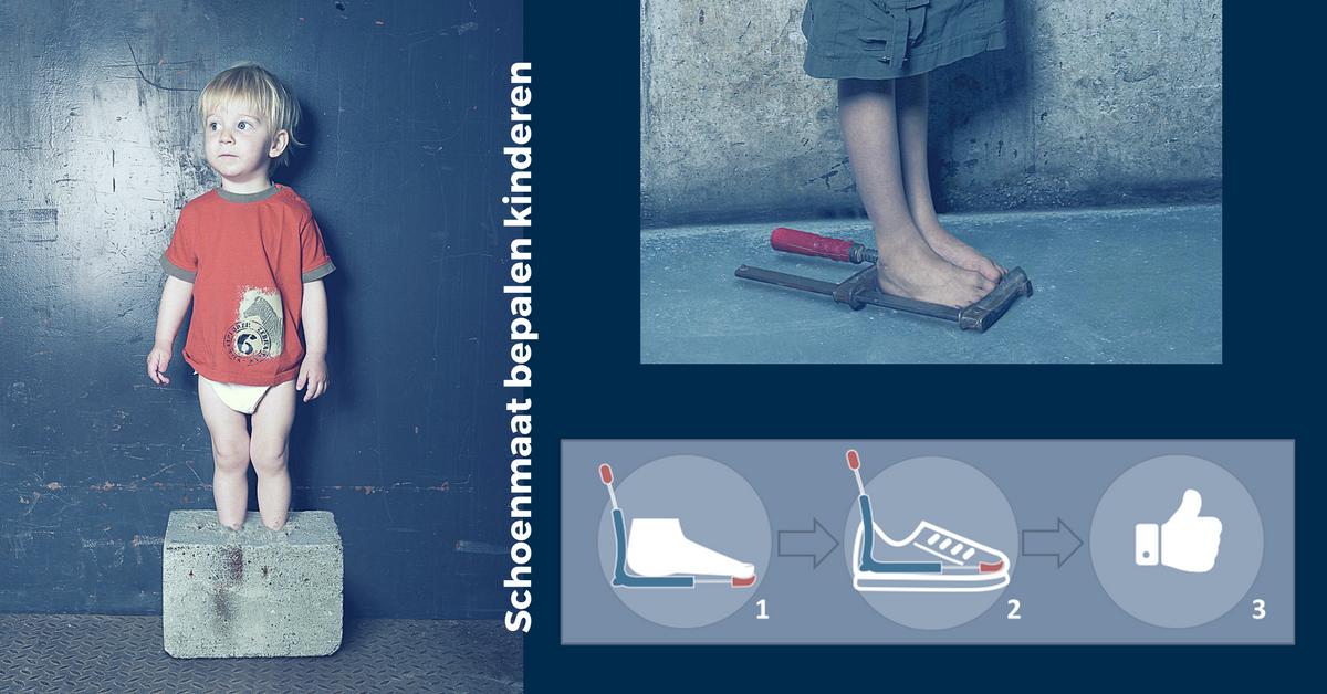 Bepaal gemakkelijk de schoenmaat van je kinderen! To Be