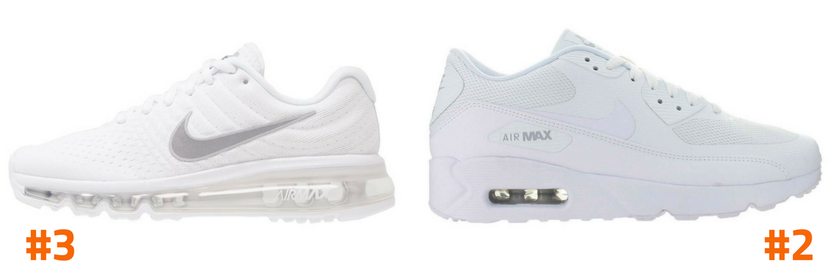 Top 5 witte Nike sneakers To Be Dressed