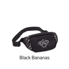 Black Bananas fanny pack