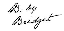 B by Bridget